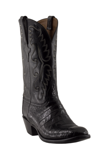 Lucchese Caiman Belly Buffalo