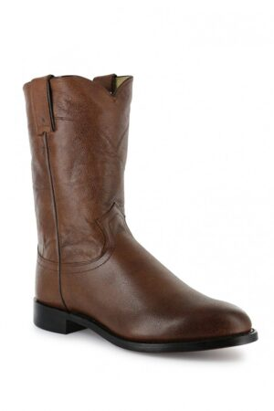 Justin Jackson Brown Roper Boot