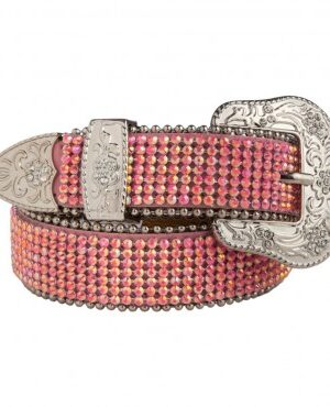 3-D Girls Pink Fashion Belt