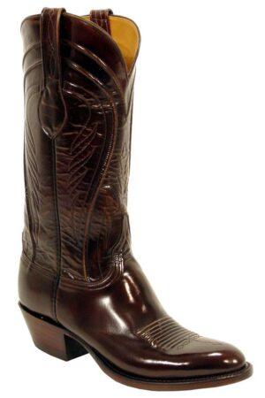 Lucchese Goat Brown Boots