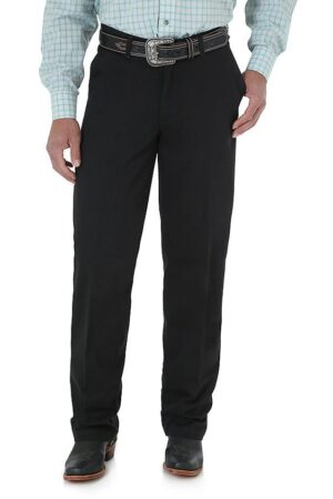 Wrangler Riata Flat Front Relaxed Casual Pant