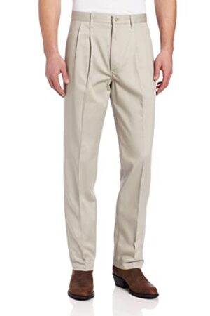 Wrangler Riata Putty Pleated Front Casual Pant