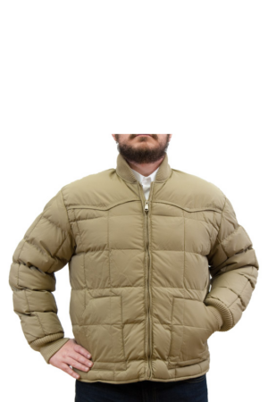 Avalon Men's Khaki Down Stuffed Jacket