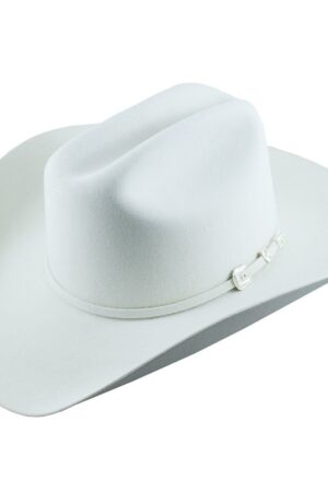 Stetson 4X Deadwood White