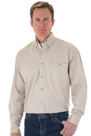 Wrangler George Strait Collection Luster Twill Shirt