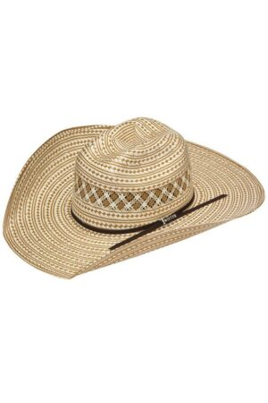 Twister 10X Two Tone Shantung Straw Hat