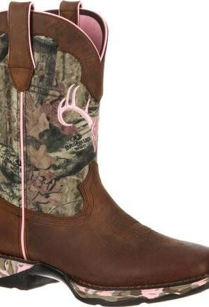 Rocky Durango Women's Camo Western Boots DRD0051 front