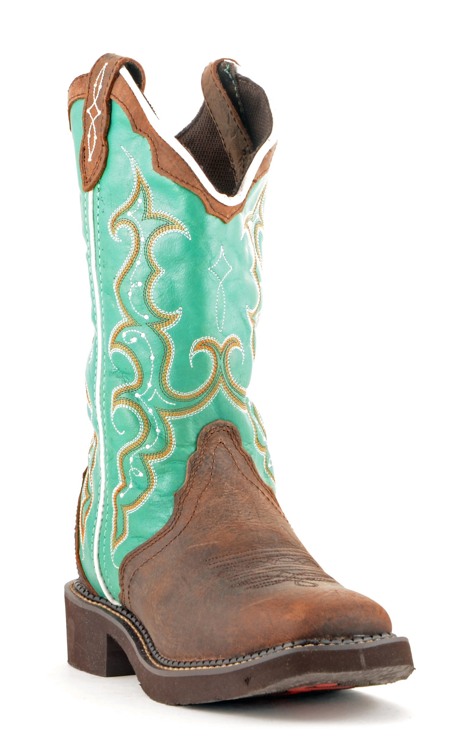 Justin Women's Brown Cowhide Gypsy Boots