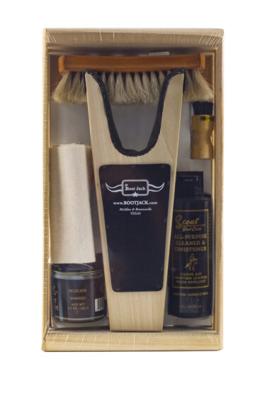 Our Original Wooden Boot Jack Kit