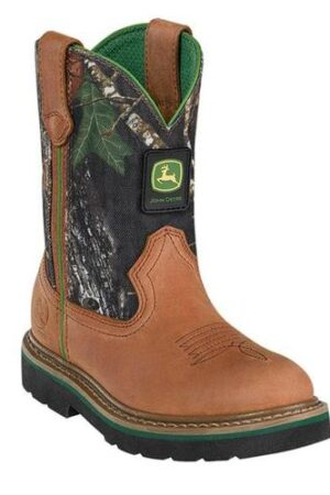 John Deere Johnny Popper Camo Youth Boots