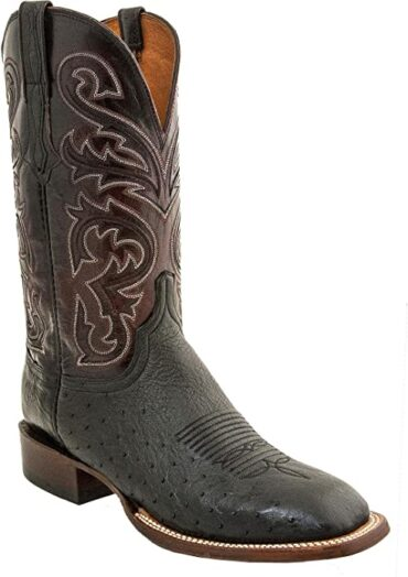 Lucchese Smooth Ostrich Boot