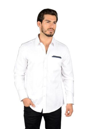 Platini White Long Sleeve Shirt
