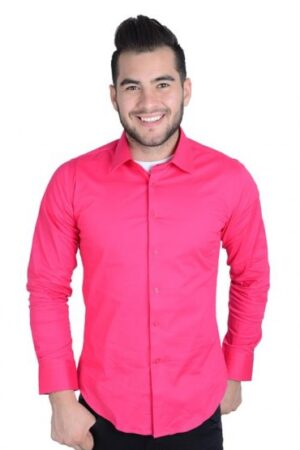 Platini Pink Long Sleeve Shirt