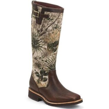Chippewa Ladies GameGuard Barbary Brown Snake Boots