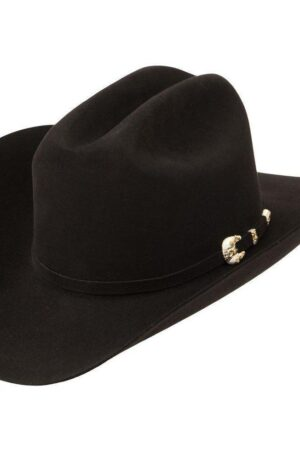 Larry Mahan 1000X Imperial Black Felt Cowboy Ha