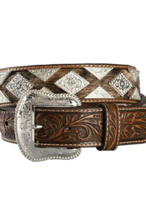 Nocona Pro Series Diamond Concho Hair Belt