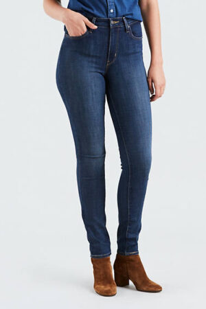 Levi Strauss 721 Blue Story High Rise Skinny Jean