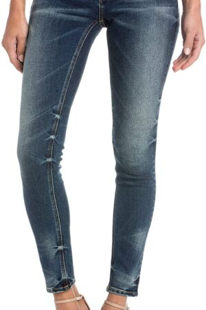 Miss Me Chaser Mid-Rise Skinny Jean