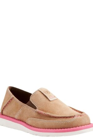 Ariat Kid's Light Brown And Pink Cruiser