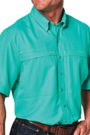 Gameguard Caribbean MicroFiber Short Sleeve Shirt Big And Tall