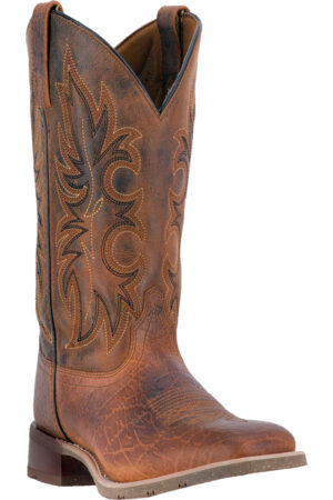 Laredo Men's Rustic Rancher Square Toe Boots