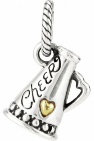 Brighton ABC Cheer Charm is a charm that will give any charm bracelet more pep. If you've got spirit, this is the charm for you!