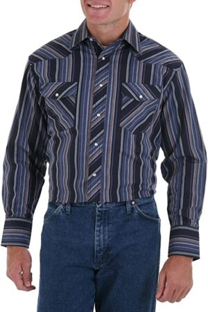Wrangler Men's Cowboy Cut Snap Shirt