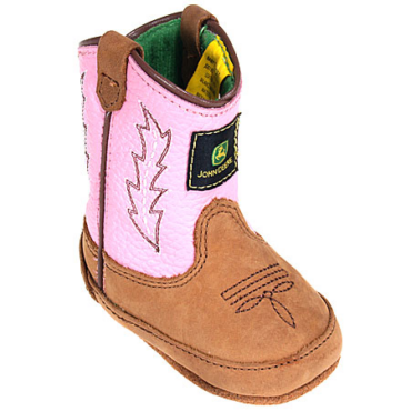 John Deere Infant Girl's Wellington Crib Boots
