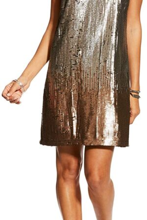 Ariat Ladies Rocker Black Sequin Dress