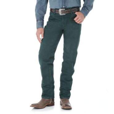 Wrangler Dark Green Mesquite Original Fit Jeans are quality jeans