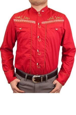 Ranger's Men's Red Charro Shirt