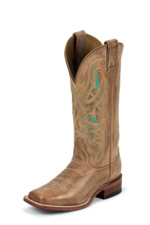 Nocona Women's Canale Honey Cowhide Cowboy Boots