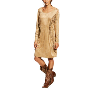 Ariat Women's Woodland Fringe Dress