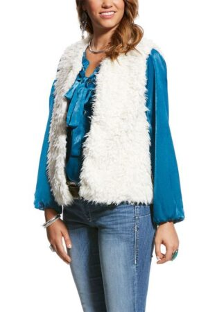 Ariat Clothing Women's Cozy Faux Vest