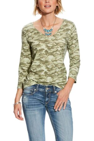 Ariat Women's Camo Gricel Top