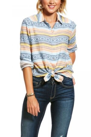 Ariat Women's Spotlight Multi-Colored Striped Western Shirt