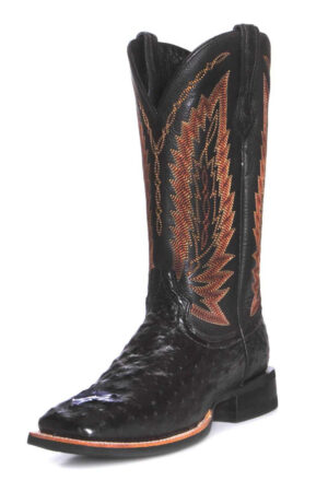 Ariat Men's Relentless Platinum Full Quill Ostrich Boots