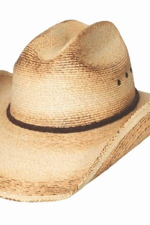 Bullhide Hats Pony Express Natural 15X Straw Cowboy Hat
