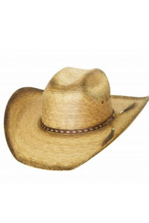 Bullhide Men's Tornado Juice 15x Straw Hat