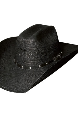 Bullhide Black Arrow 20X Straw Hat