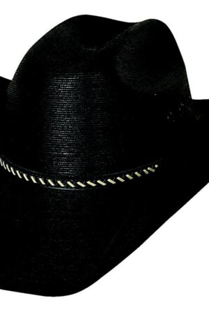 Bullhide Hats Black Straw Hat