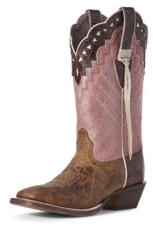 Ariat Women's Performance Ember Buckskin Cowgirl Boots