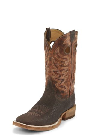 Justin Men's Caddo Brown Stone Boots