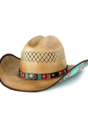 Bullhide Too Good Womens Pecan Straw Hat