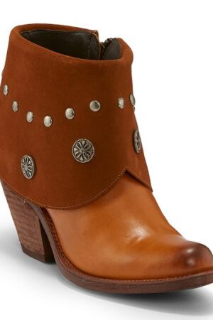 Justin Cheyenne Tan Booties
