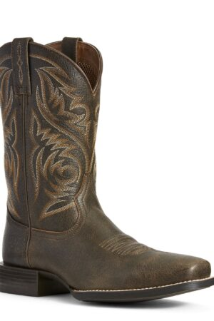 Ariat Men's Sport Herdsman Brooklyn Brown Boots