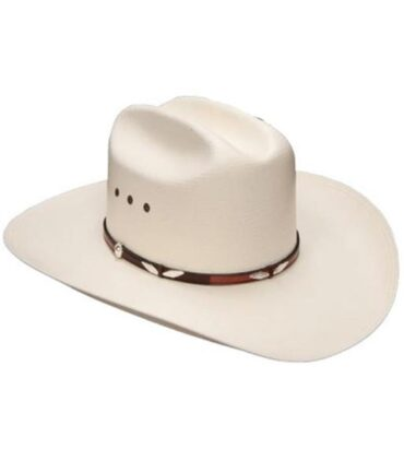 Stetson 10X Collection Eagle Pass Straw Hat