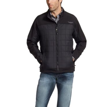 Ariat Men's Relentless Persistence Black Ripstop Shell Jacket