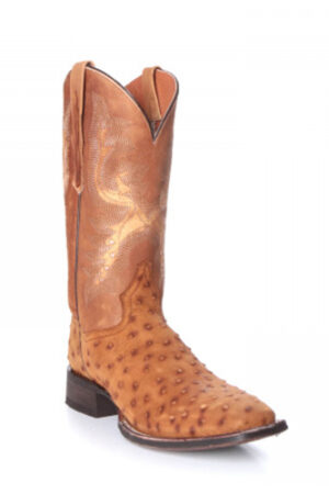 Dan Post Men's Quilled Ostrich Boots