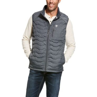 Ariat Men's Ideal 3.0 Grey Down Insulated Packable Vest